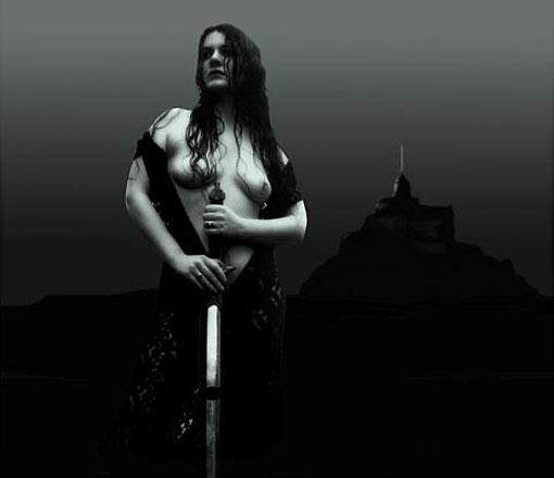 """Фото Хейна Лэсса """"Богиня земли Гея"""""""